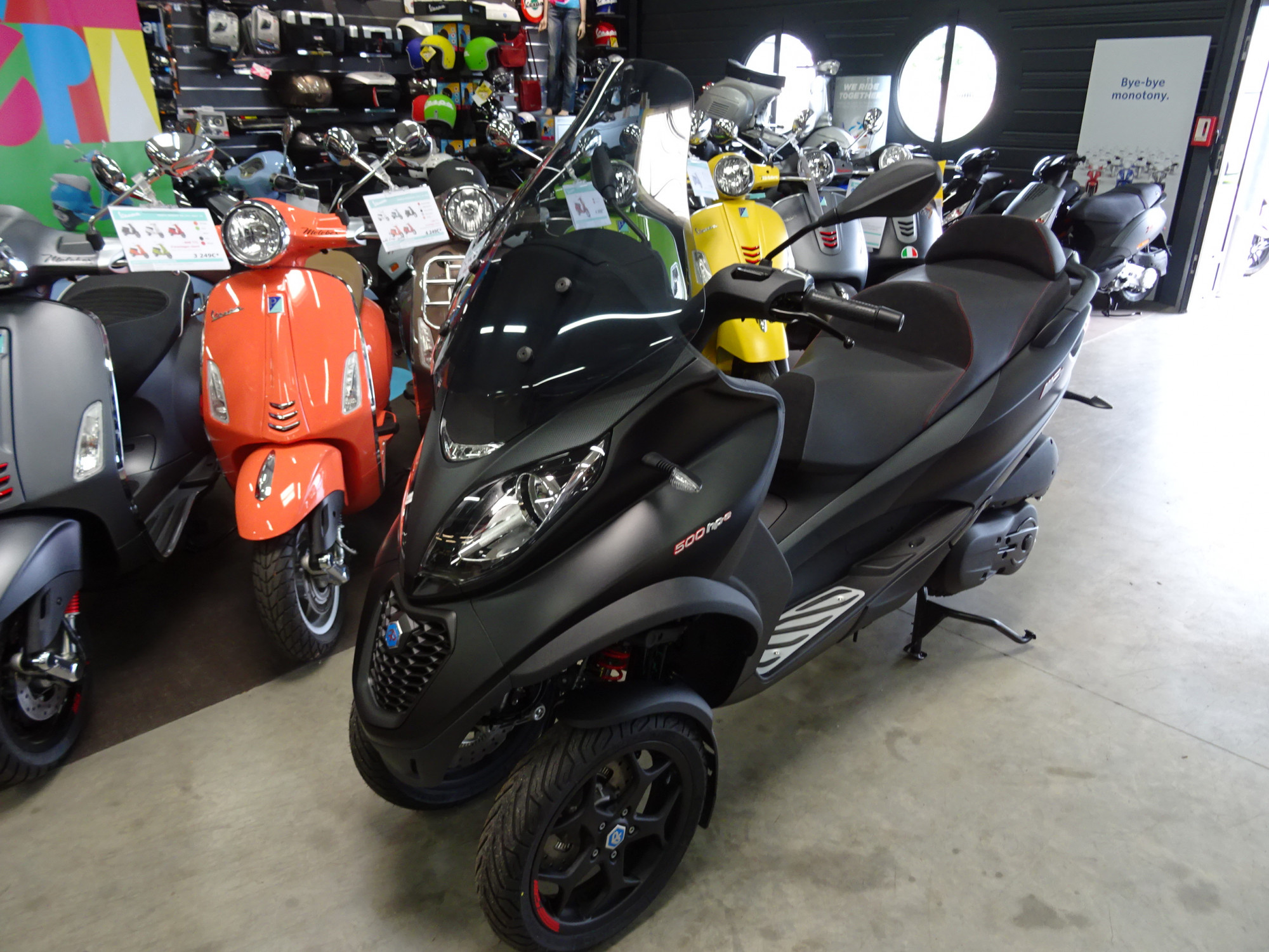Scooter PIAGGIO MP3 500 LT hpe ABS/ASR occasion